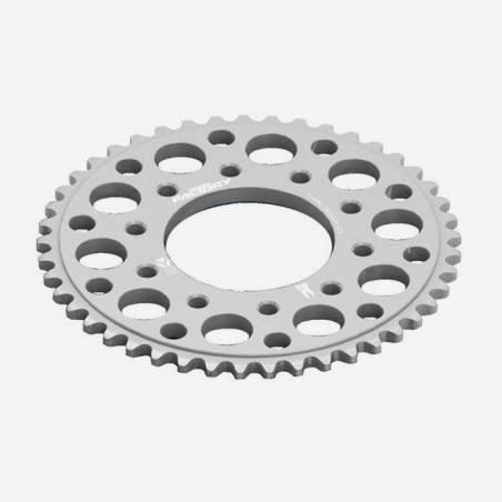 Corona in alluminio CNC 47 denti SILVER 2014