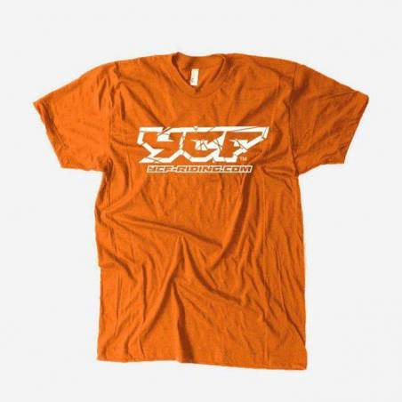 T-shirt ARANCIONE YCF L