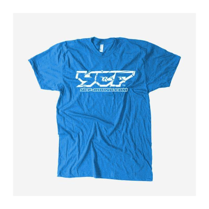 T-shirt BLU YCF 2017 - L