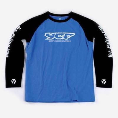 T-shirt maniche lunghe BLU XL