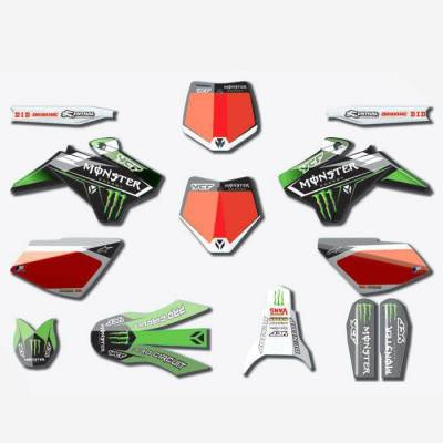 Kit Grafiche Monster 2017 (gamma Start, Pilot fino 2015, Factory fino 2015)