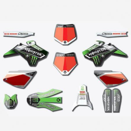 Kit Grafiche Monster 2017 (gamma Start, Pilot fino 2015, Factory fino 2015)