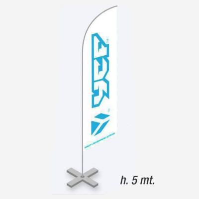 Bandiera YCF 5 M.