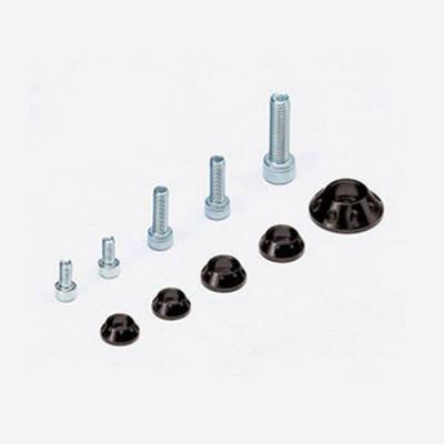 Kit rondelle in CNC per serbatoio e kit plastiche - NERO