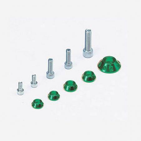Kit rondelle in CNC per serbatoio e kit plastiche - VERDE
