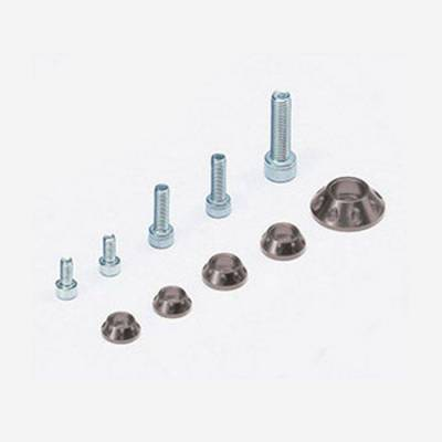 Kit rondelle in CNC per serbatoio e kit plastiche – SILVER
