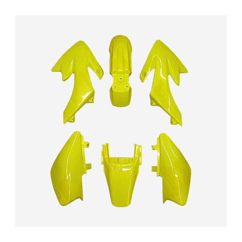 Kit completo plastiche CRF50. Colore giallo