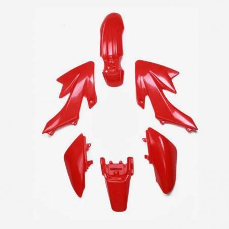 Kit completo plastiche CRF50. Colore rosso