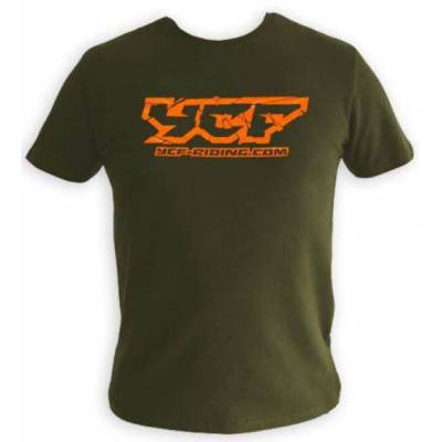 T-shirt VERDE YCF XL 2019