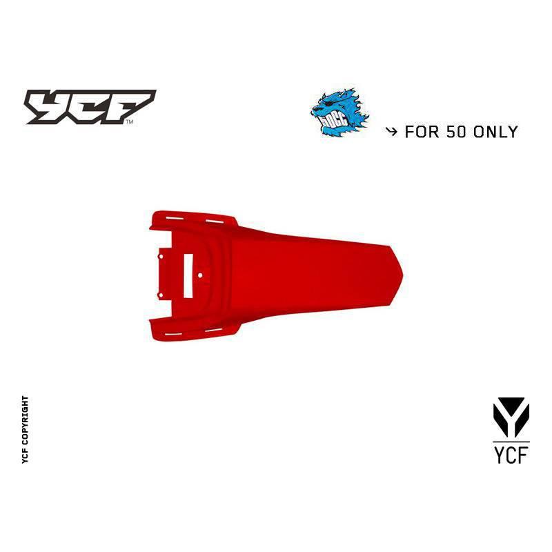 YCF50A parafango posteriore ROSSO