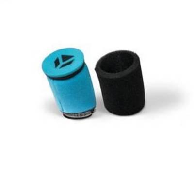 Filtro aria in spugna doppio strato diam. 45 senza molla interna